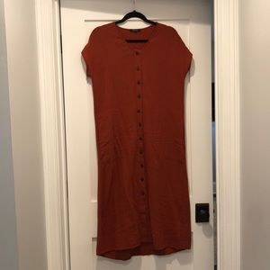 Madewell dress small new without tags
